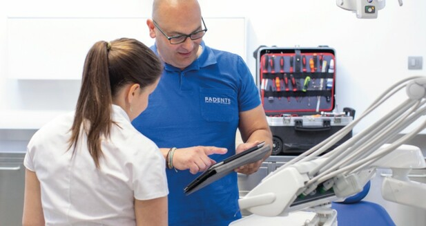 Servicio técnico integral y personalizado para instalación de equipos en tu clínica dental Fadente